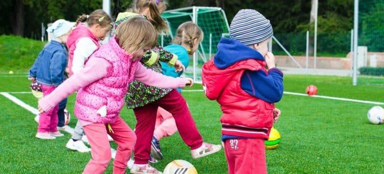 kids playing, playground